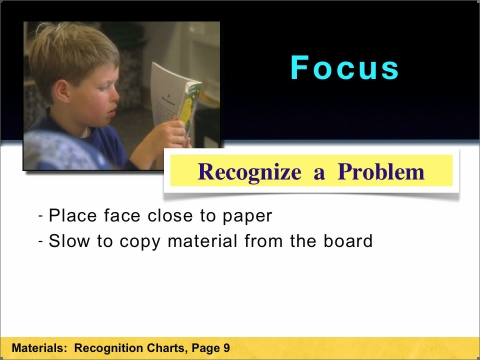 How to recognize a Focus problem
