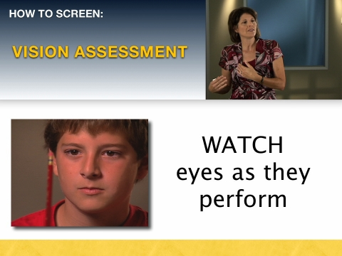 Learn to watch eyes as they perform