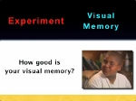 Experiment with your visual memory